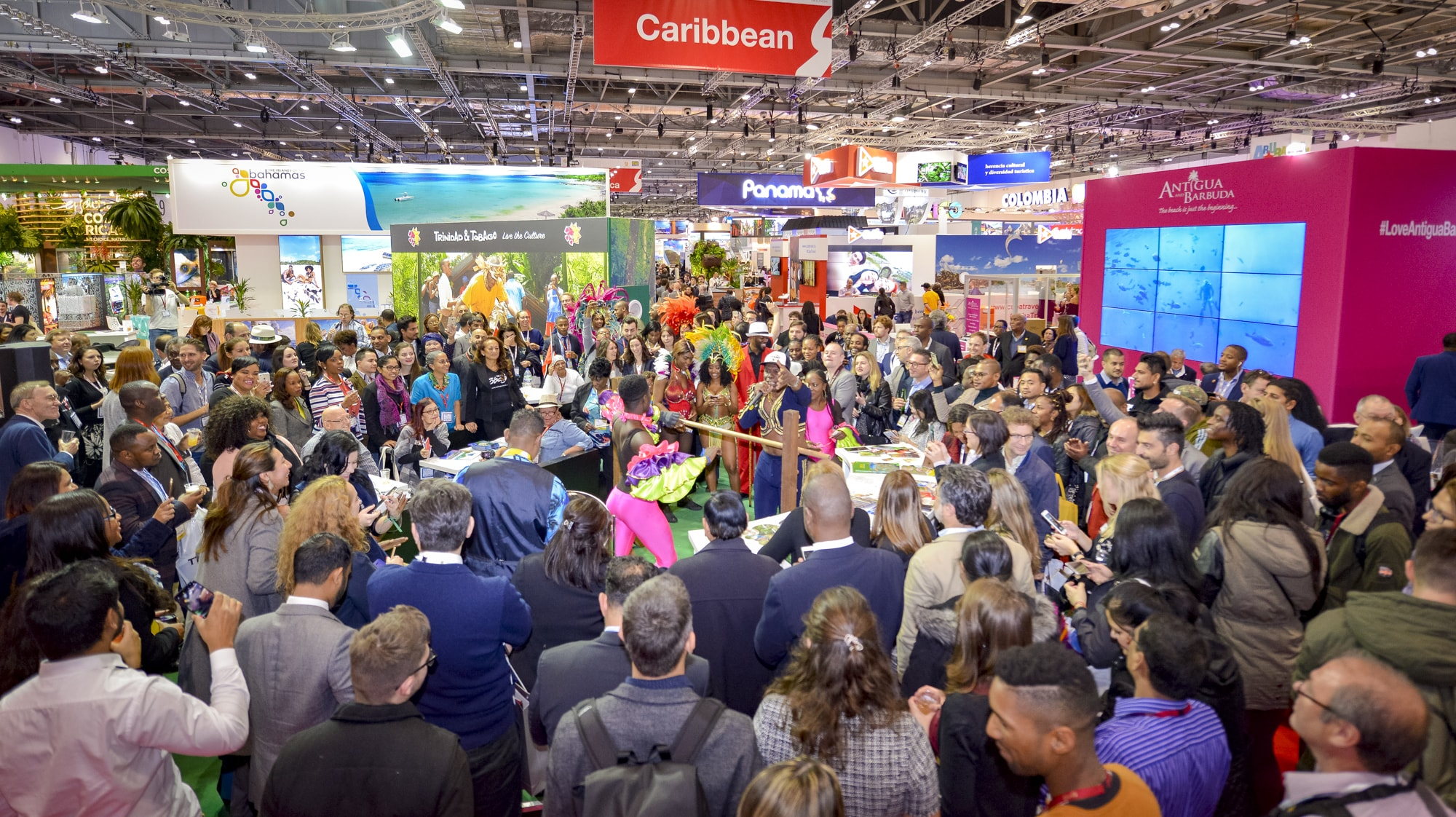 Crowd at World Travel Market