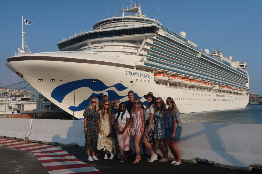 Princess Cruises campaign team