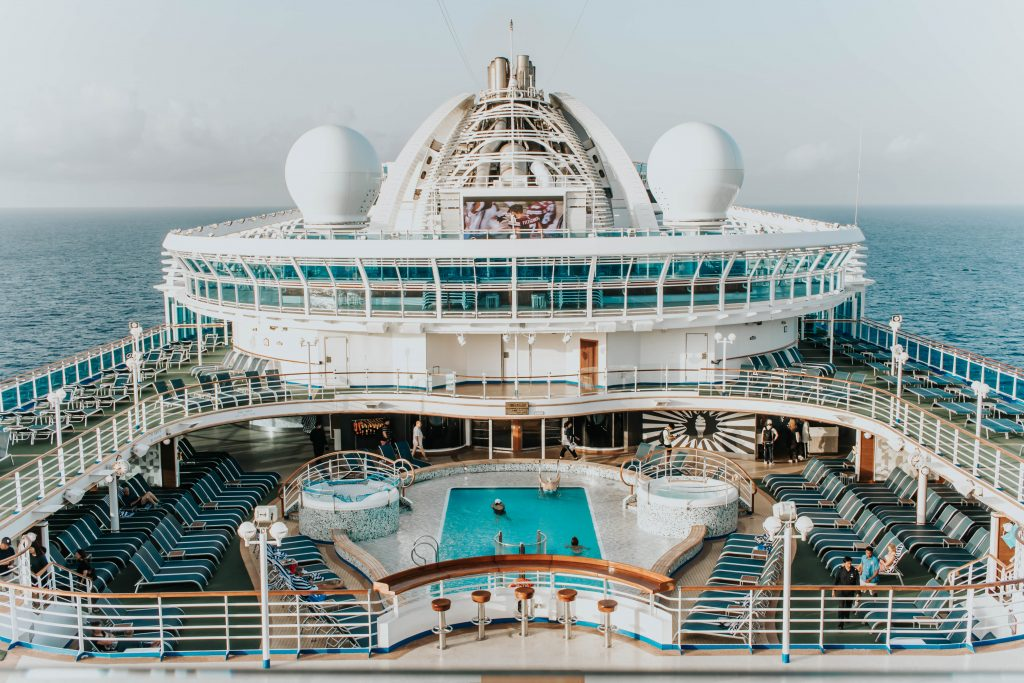 Princess Cruises swimming pools