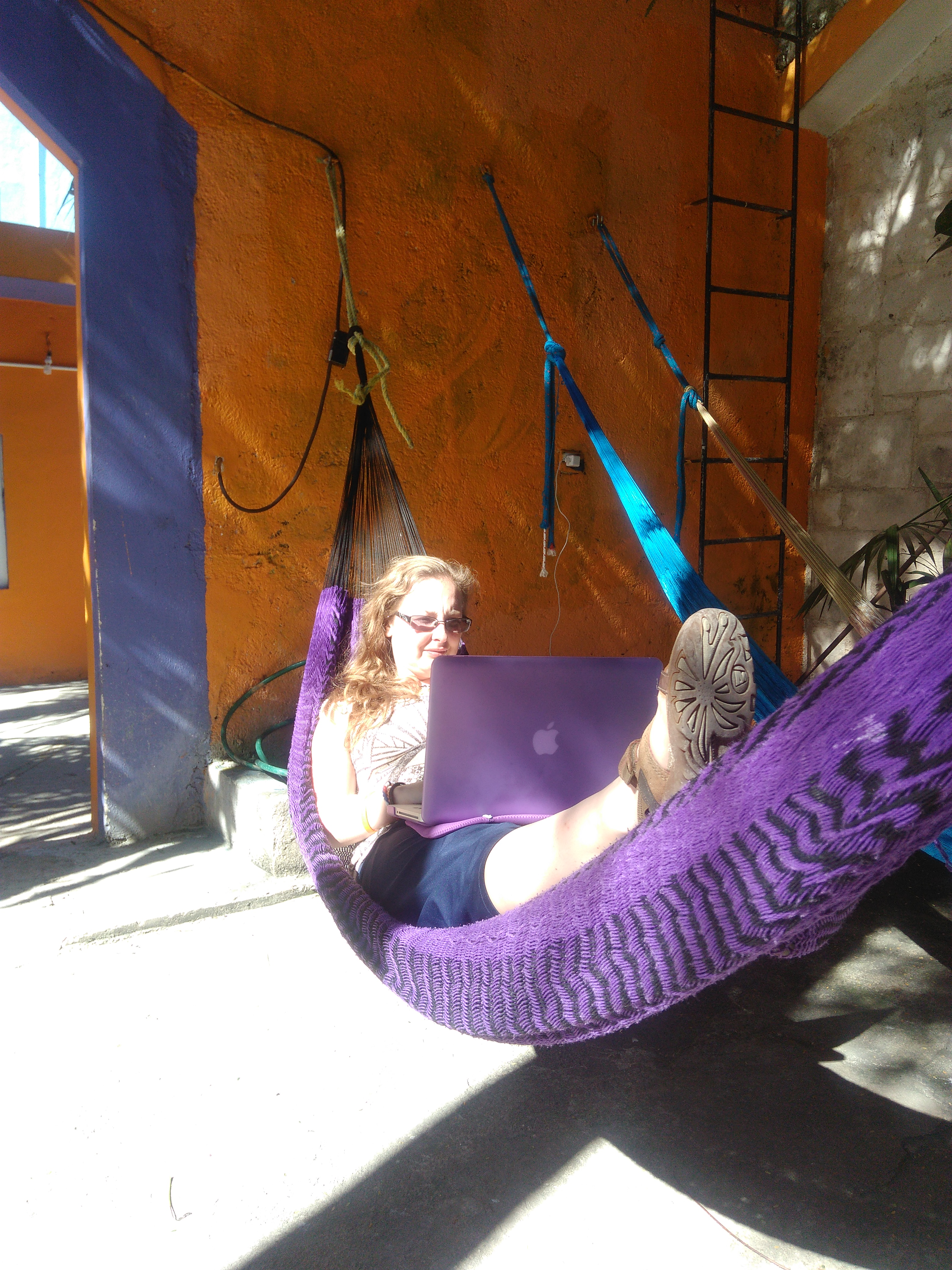 I Found Hammocks Were The Best Place To Work From