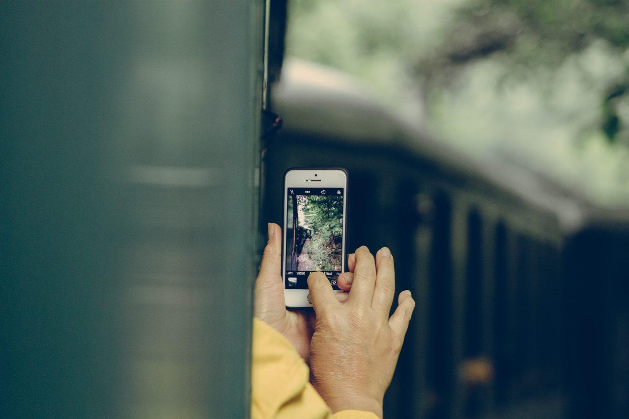 Photos on phone