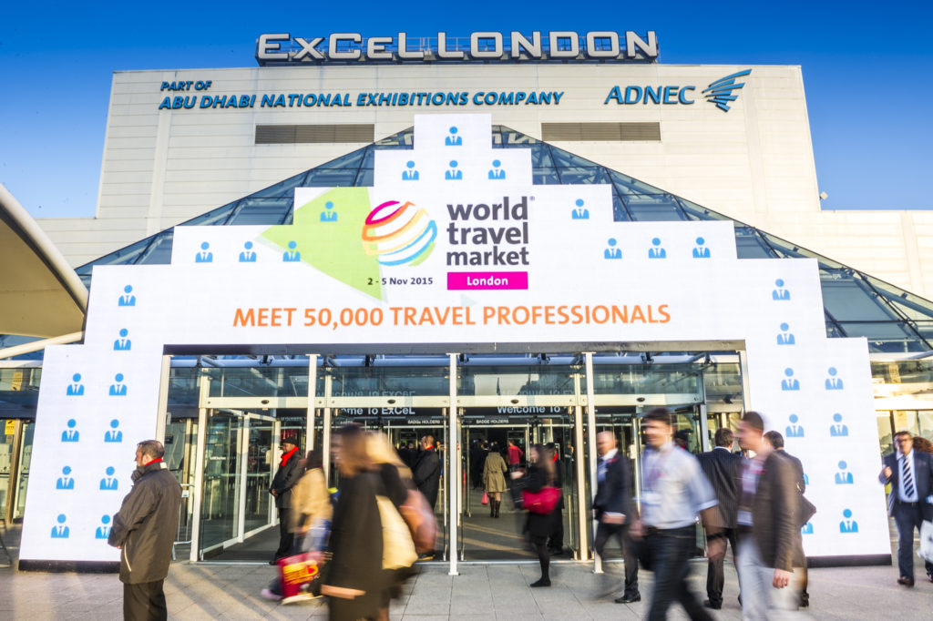 WTM London from the outside