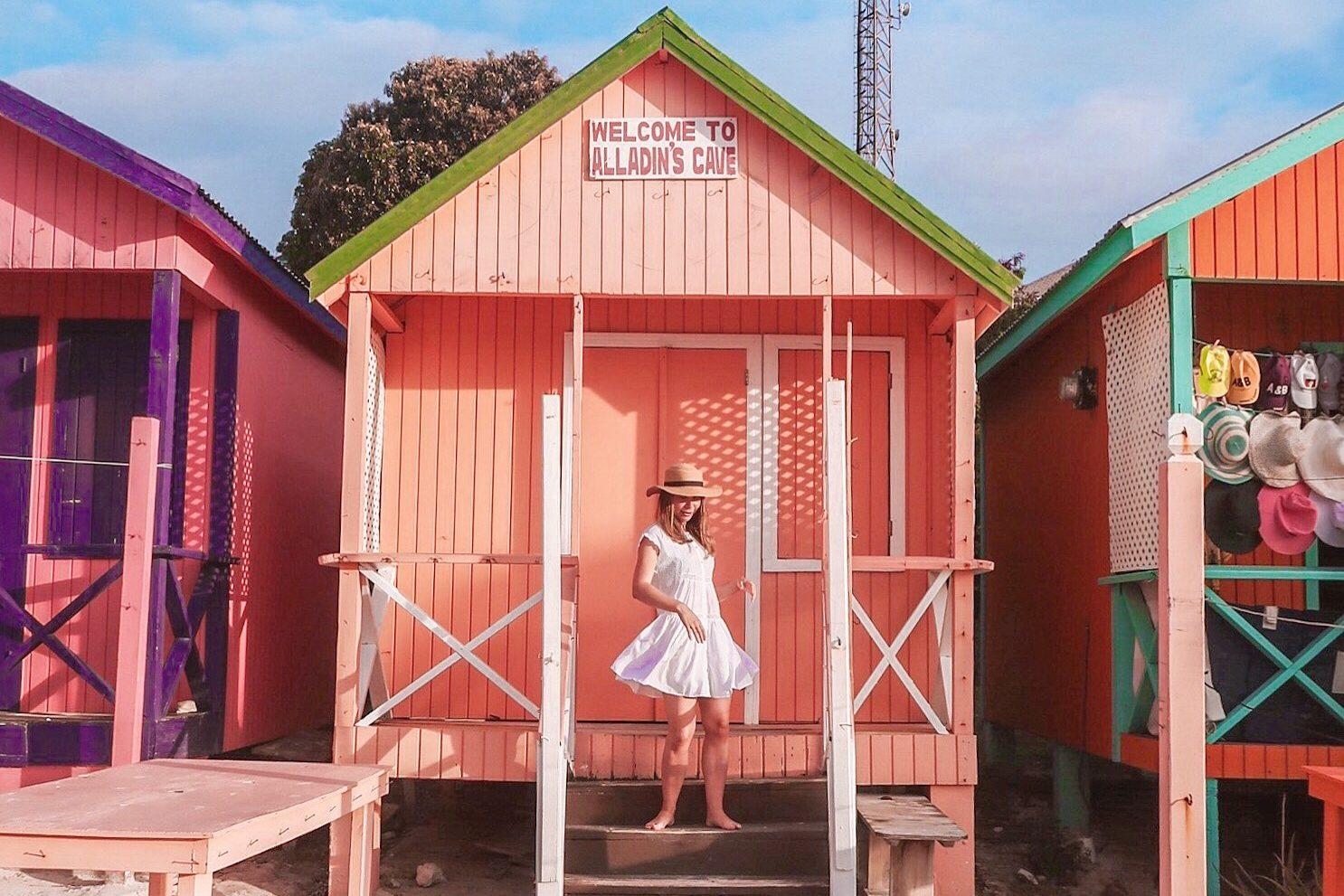 Antigua Beach huts