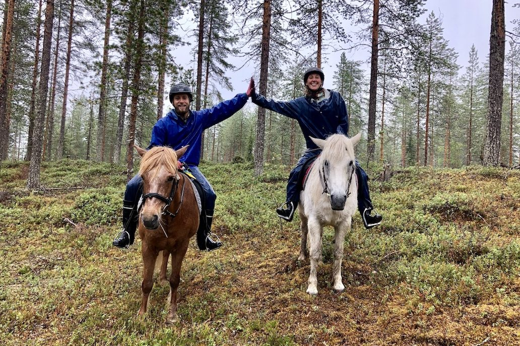 A Lovely Planet Hayley Lewis Finnish Lapland Adventure Horse Riding