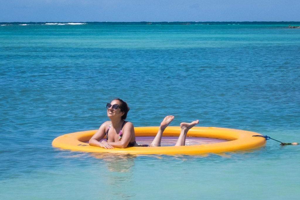 Antigua beach adventurous kate