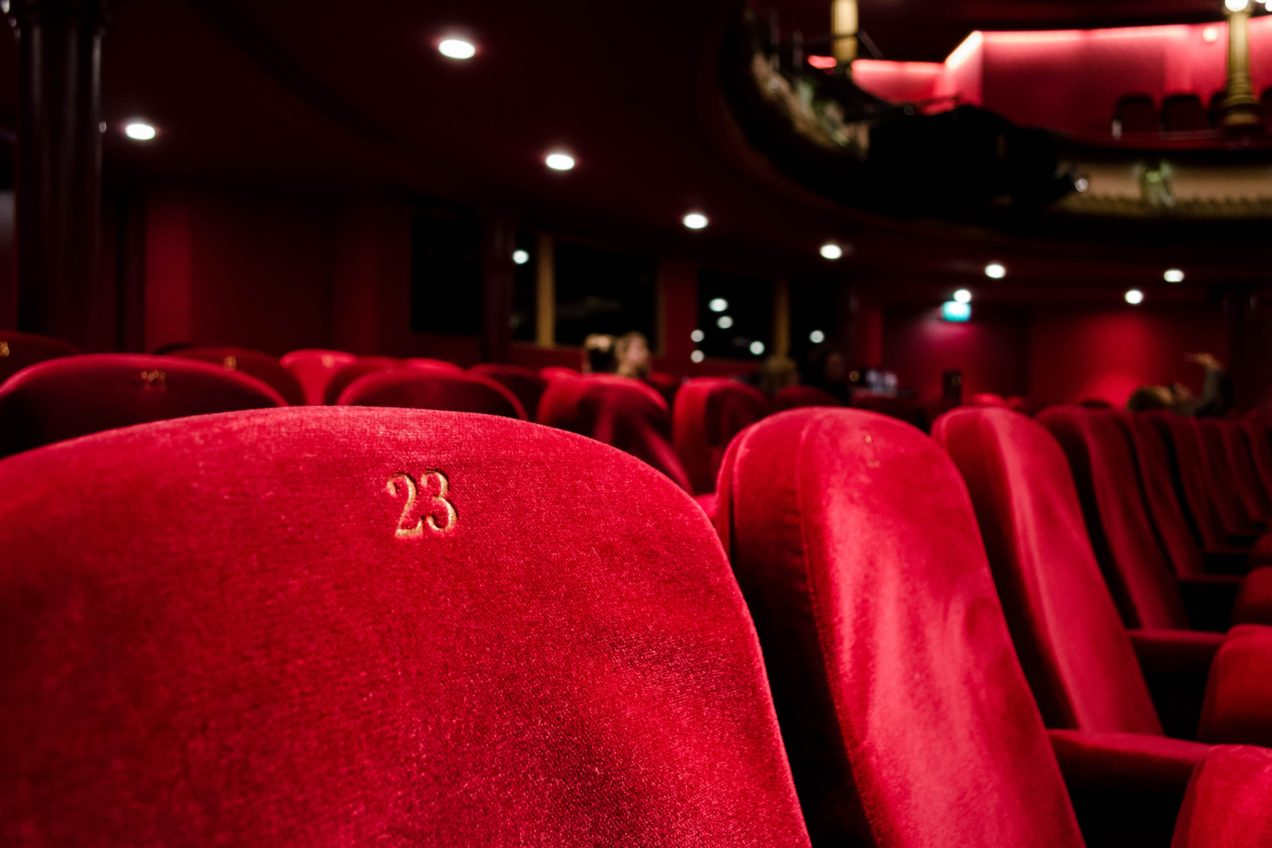 Three Film Festival - cinema seating