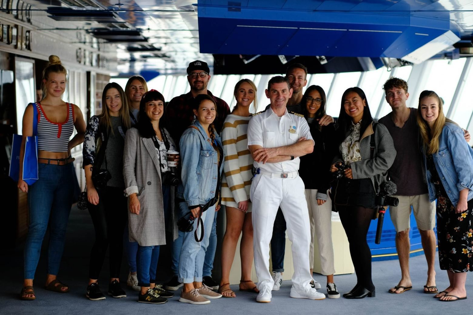 Influencers on Princess Cruise