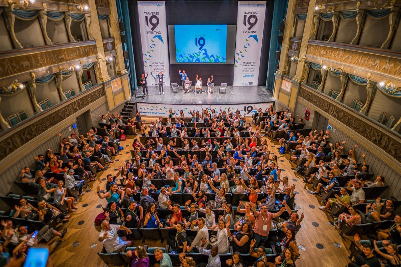 Closing panel at Traverse 19 in Teatro sociale