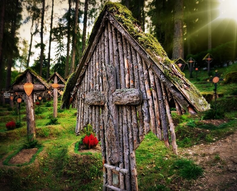 Cemetry in South Tyrol