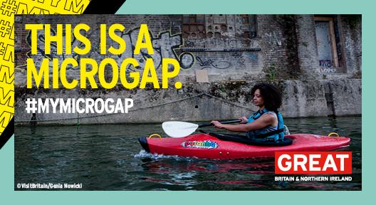 #MyMicrogap Regent's Canal, London