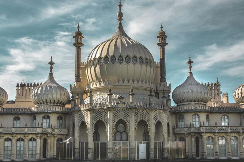Brighton Pavilion on a microgap