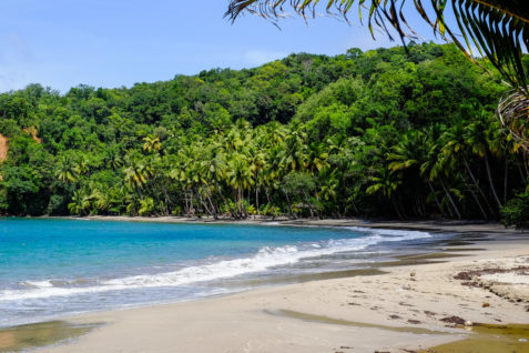 Beautiful beaches in Dominica
