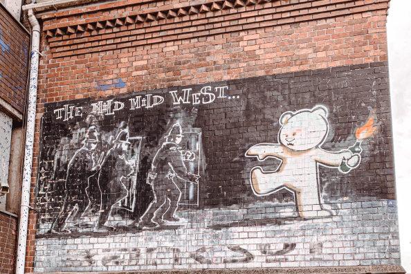 Picture of graffiti in Brighton