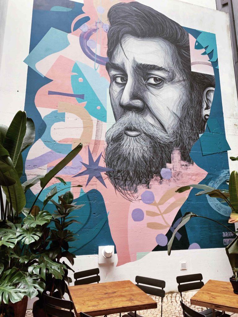 Quirky artwork at Selina Hotels