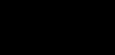 Magnetic Latvia logo in black