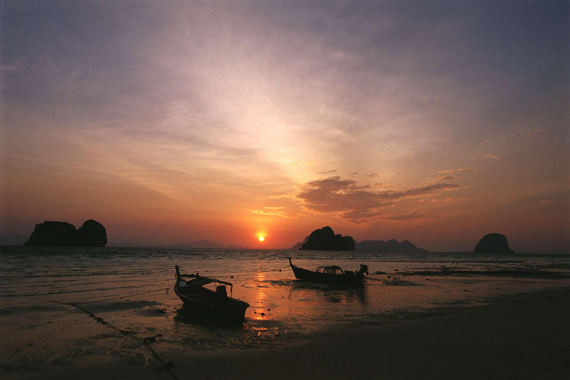 Trang sunset Thailand