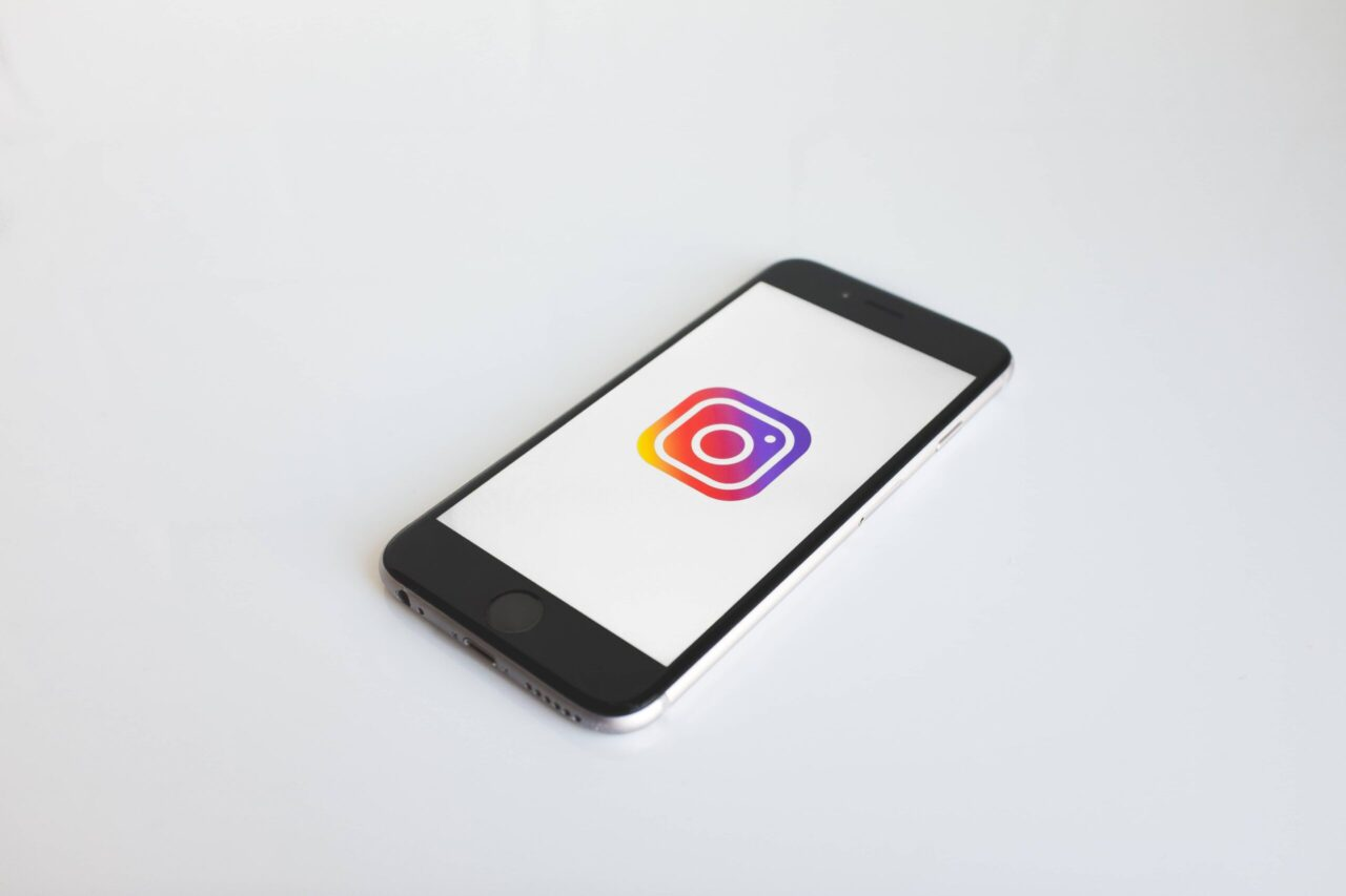 Instagram displayed on a phone
