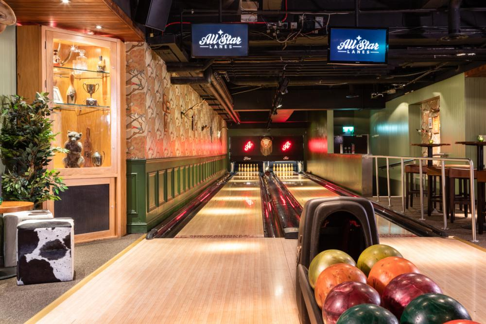 bowling the lodge London