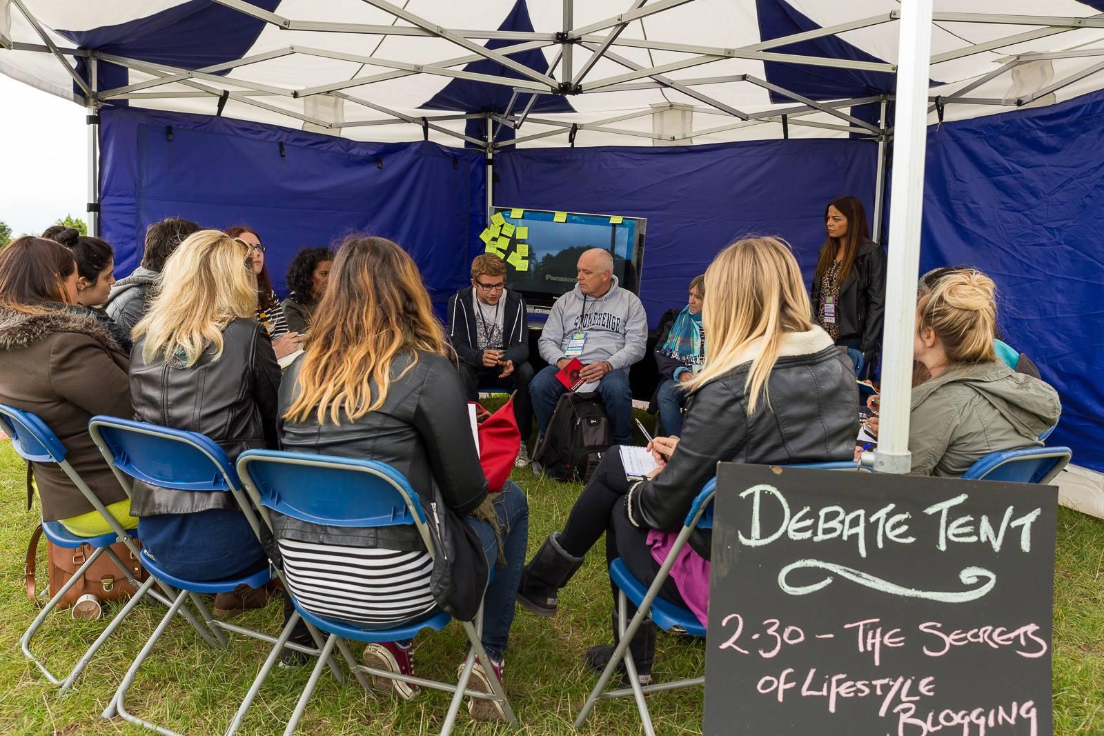 Debate Tent