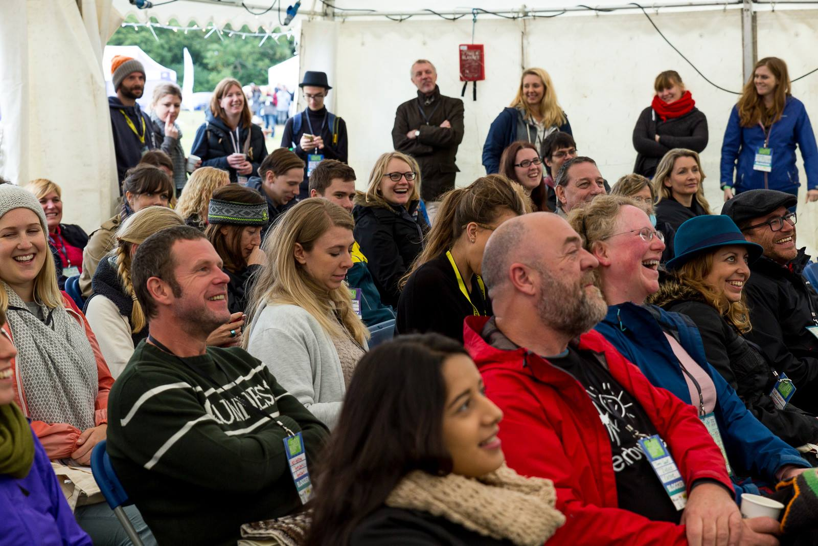 Crowd big talk at BlogStock