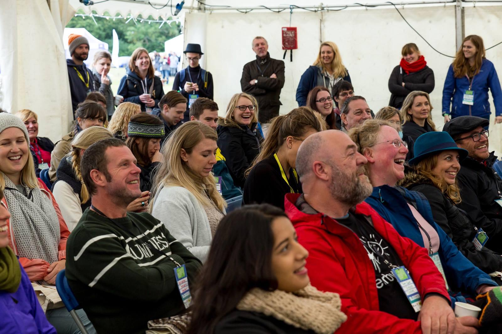 Crowd big talk at BlogStock