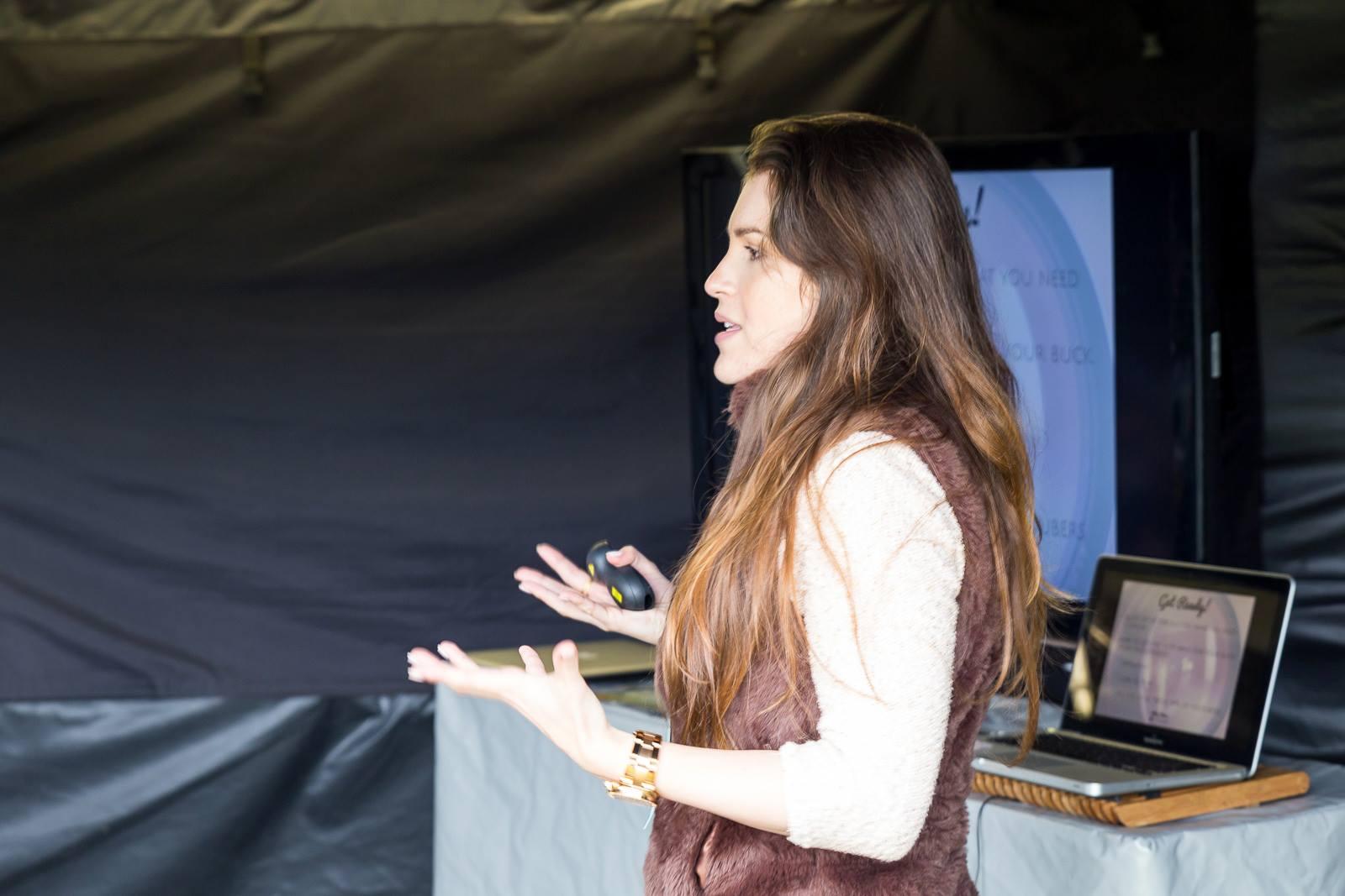 Ximena At BlogStock