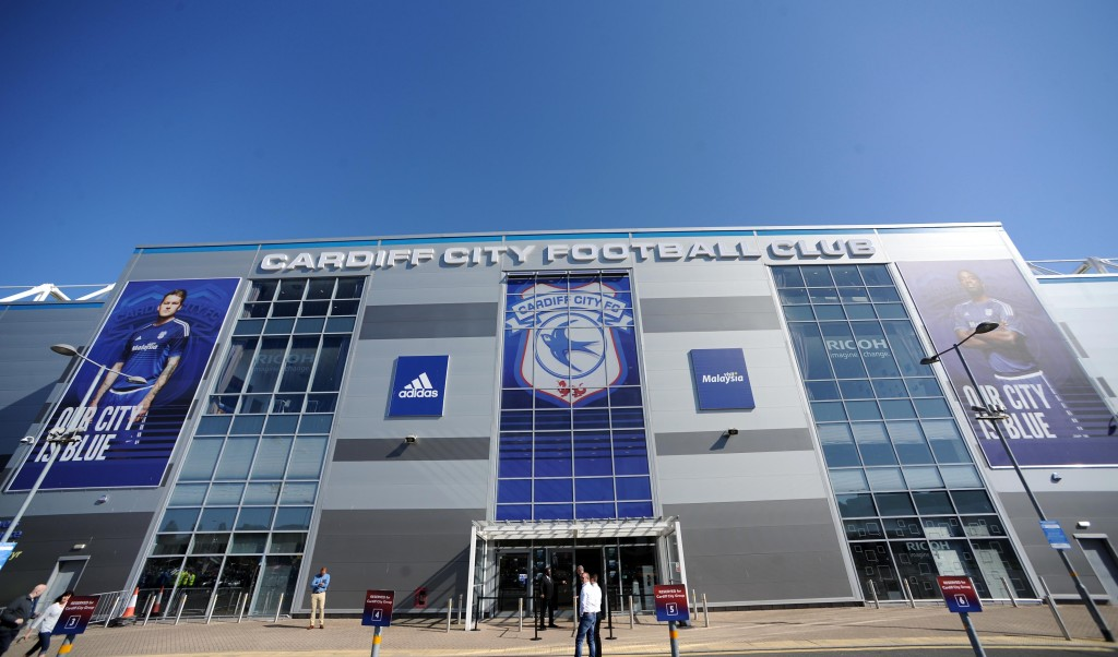 General view showing Cardiff City Stadium