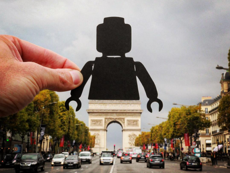 Lego paperboyo