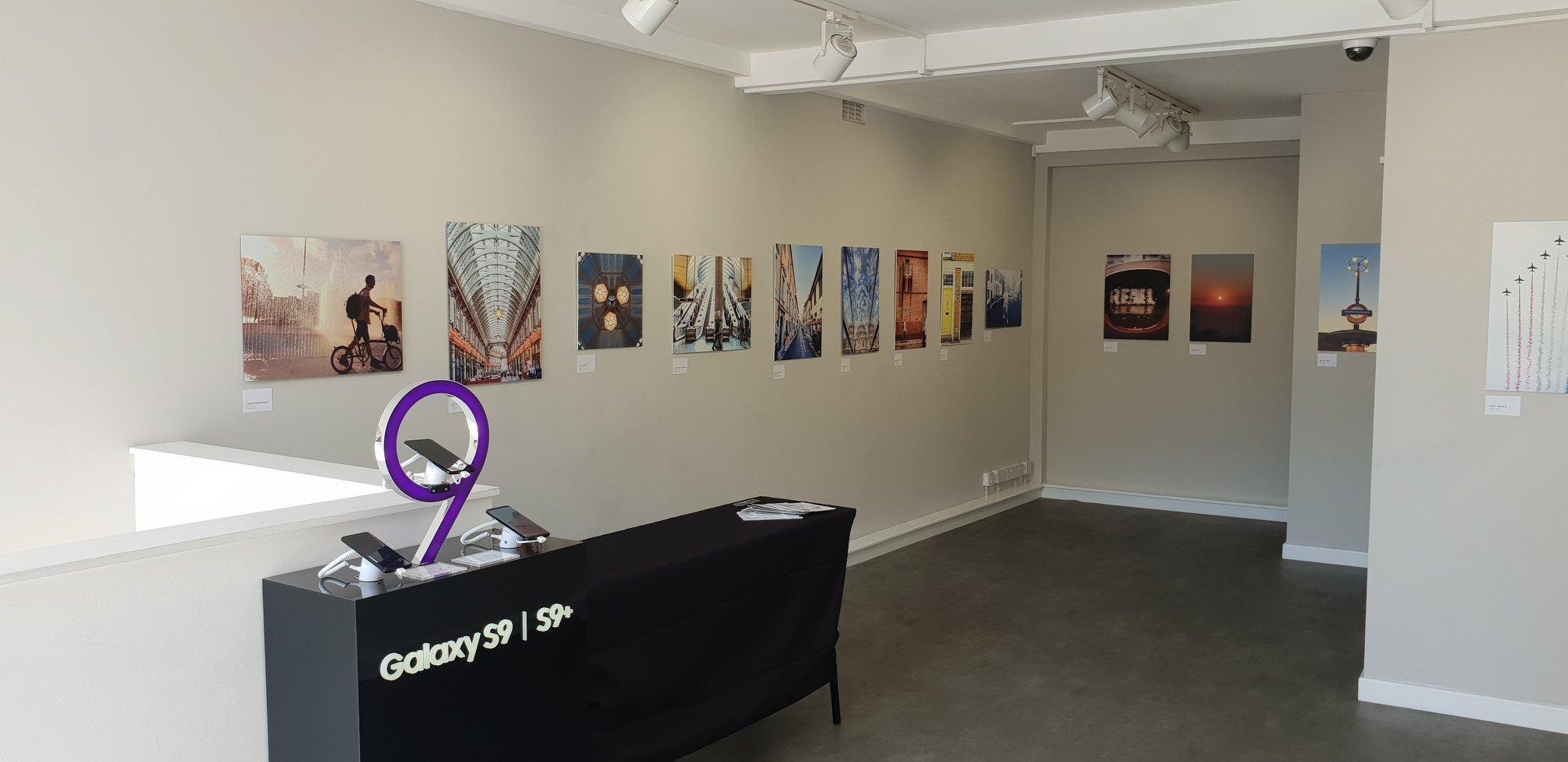 Samsung Three gallery event