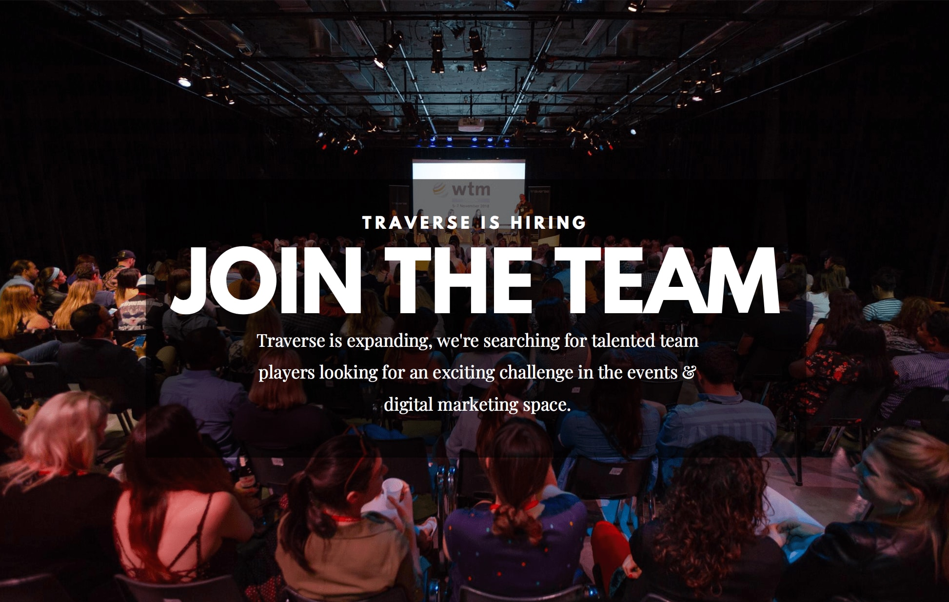 Join the Traverse team