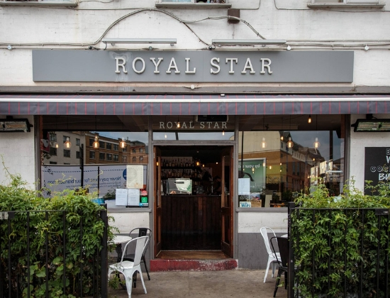 Royal Star outside