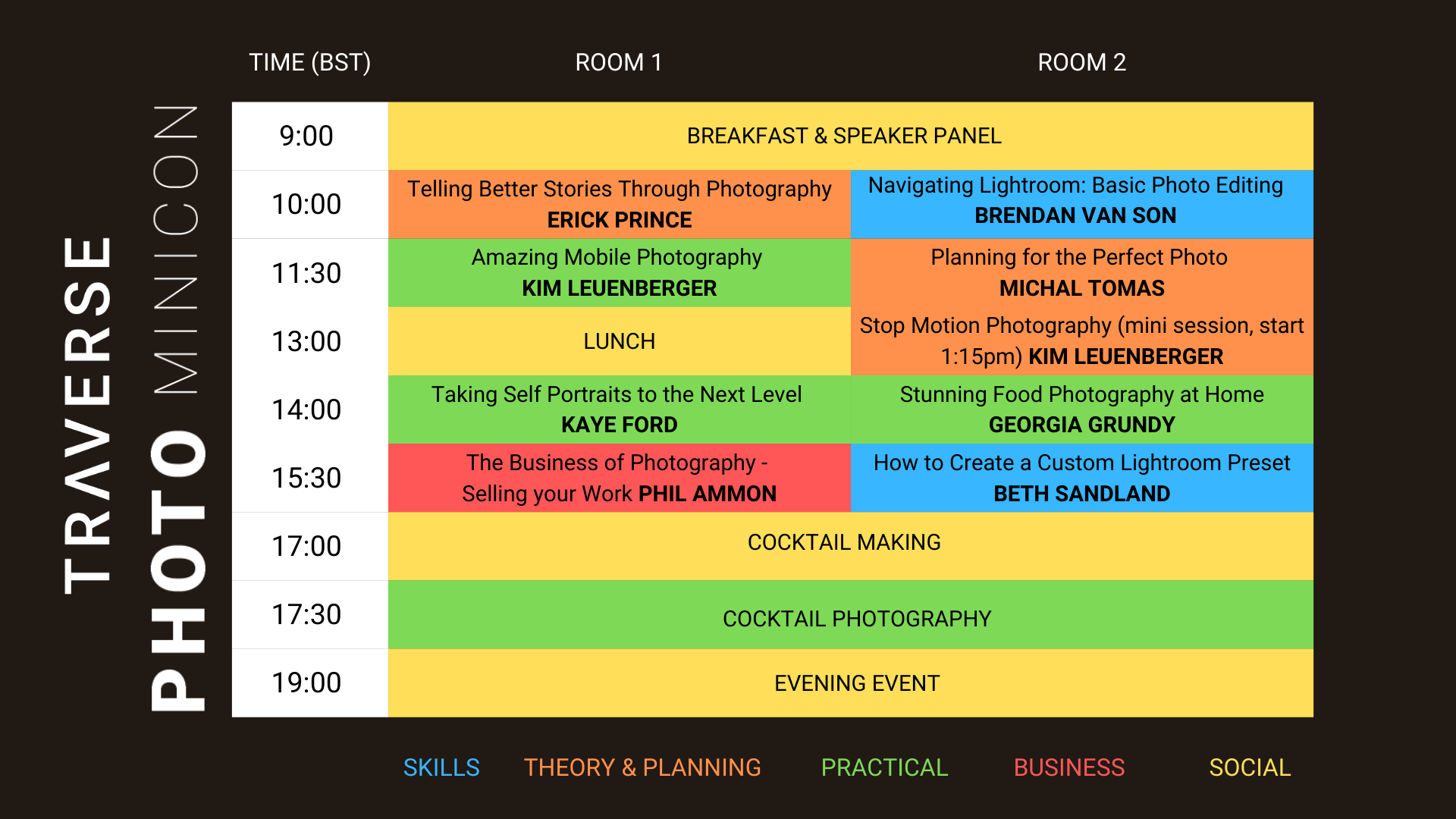 Photo minicon schedule v1